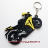 Брелок Motorace MLD-019 Black/Yellow/Grey