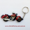 Брелок Motorace MTL-025 Black/Red/White