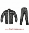 Дождевик Akito Storm 2PC Black