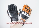 Мото перчатки Atrox Predator New Black-Orange
