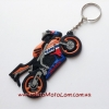 Брелок Motorace MTL-021 Orange/Black/Blue