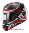 Шлем мотоциклетный Ls2 FF352 Rookie Gamma Black Red
